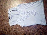 продам майку белую Dolce gabbana; размер : S ; цвет: белый, Альметьевск - Женская одежда