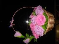 Арзамас: Букет из конфет Букет из конфет, из 17 роз. Конфеты Бутон с суфле и молочной начинкой, производитель: АОАккон Россия. Можно на заказ в течении дву