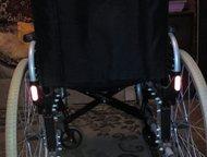 Астрахань: продаю инвалидное кресло каталку продаю инвалидное кресло каталку 50 см ширина сиденья 100-125 кг вес облегченка б, у в хорошем состоянии 3500 торг .