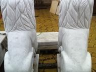 Челябинск: Продам мраморных львов продам двух мраморных львов ручной работы! ( 250000 р цена за двух сразу) мраморные подставки в комплекте. (Торг уместен)