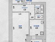 Димитровград: Свирская 23а, Кирпичный дом 2-й этаж из 10-ти Год постройки дома - 2002 Кирпичный дом  1-комнатная квартира планировки мобиль  общая площадь – 40, 23