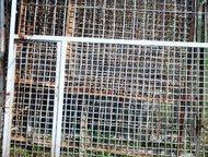 Дзержинск: продаю лицевую часть для вольера Заводчикам собак и владельцам питомников, продаю лицевую часть для вольера,   изготовлен из железных уголков и железн