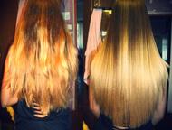 Бразильское выпрямление волос, выезд БРАЗИЛЬСКОЕ ВЫПРЯМЛЕНИЕ ВОЛОС! Кератиновое выпрямление и лечение волос! Кератин очень легко и быстро пропитывает , Екатеринбург - Салоны красоты