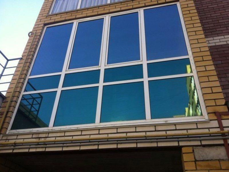 Тонировка балконов - пилорамово.