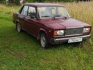 Гатчина: продаются жигули 2107 Машина в хорошем состоянии, гаражное хранение, использовалась только летом. Цвет тёмно бордовый. Пробег 19000 км. Куплена в нояб