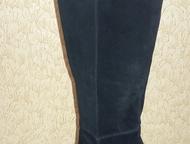 Продам женские модельные новые сапоги, недорого Продам новые женские модельные сапоги, натуральная замша, цвет черный, размер 39 (на 38). Недорого. Хо, Ханты-Мансийск - Женская обувь