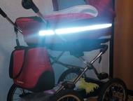 люлька коляска Продам коляску люльку от 0 до 6 мес. очень удобная и красивая. состояние хорошее, Ижевск - Детские коляски