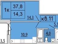 Продам однокомнатную квартиру Спасибо что выбрали нашу квартиру! Однокомнатная квартира на третьем этаже 17-этажного нового жилого комплекса.   -Прост, Ижевск - Продажа квартир