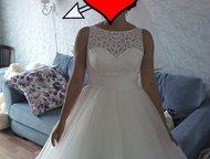 Ярославль: Продам очень красивое свадебное платье, В идеальном состоянии Продам очень красивое свадебное платье цвета айвори. размер 44-46. бу 1 раз. платье в ид