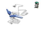 Продам стоматологическую установку Продается стоматологическая установка Федесса Мидвей (Испания), цвет сиреневый + компрессор Эком ДК50-10С, 2007-200, Ярославль - Стоматологии