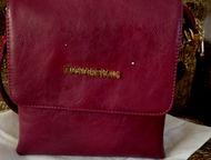 женская сумка женская сумка новая из эко кожи . цвет бардовый., Кемерово - Одежда и обувь, аксессуары - разное