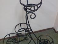 Кемерово: Цветочницы для дачи и сада Предлагаем готовые изделия из металла:  - перила, решетки, заборы, ворота, ритуальные ограды, козырьки, скамейки, лавочки,