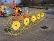 Грабли-ворошилки 5 колесные Грабли-ворошилки колесно-пальцевые предназанчены для сгребвания проявленной травы из прокосов в валки, ворошения ее в прок, Кемерово - Спецтехника