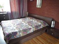Продается спальный гарнитур Продается спальный гарнитур, б/у, в хорошем состоянии. Двухспальная кровать (2х1, 6), комод, зеркало, 2- прикроватных тумб, Красноярск - Мебель для спальни
