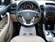 Kia Sorento, ОТС *Доп. установили: передние парктроники, сигнализация с автозапуском, ветровики+дефлектор капота, резиновые ковры в салоне и багажнике, Красноярск - Купить авто с пробегом