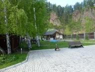 Красноярск: продам коттедж на реке Базаиха, первая линия Продам элитный коттедж в коттеджном посёлке на берегу реки Базаиха. Въезд на территорию по пропускной сис