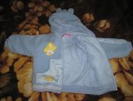Ленинск-Кузнецкий: Теплый костюм На мальчика или девочку 8-12 мес.