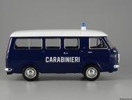 Липецк: полицейские машины мира №2 Fiat 238 carabinieri 1967,полиция Италии. Цвет:фиолетовый, сделан из металла и пластика, масштаб:1:43, модель в блистере, с