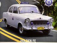 Липецк: полицейские машины мира №10 Holden fe полиция Австралии цвет:серый, масштаб:1:43, сделан из металла и пластика, модель в блистере, журнал прилагается