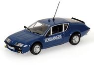 Липецк: полицейские машины мира №11 Alpine renault A 310,французская жандармерия. цвет:синий, масштаб:1:43, сделан из металла и пластика, модель в блистере, с