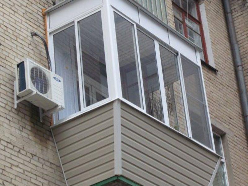 Заводское остекление балконов и лоджий, окна в люберцы.