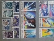 Продам коллекцию марок Продам коллекцию марок в количестве 600 штук из 30 стран мира  Тематика- спорт, футбол, космос, автомобили, Магнитогорск - Коллекционирование