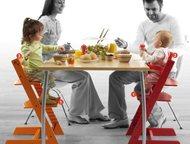 Стул растущий, Аналог Tripp Trapp и Kotokota Предлагаем универсальный, регулируемый стул - аналог известного детского стула Tripp Trapp из Норвегии, п, Москва - Мебель для детей