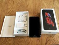 Продам новенький iPhone шестой *Мощные телефоны Apple iPhone 6S на Android платформе. Доставка по всей России в течении 1-3 дней, любой курьерской слу, Москва - Телефоны