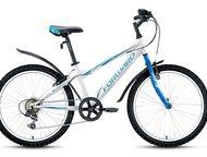 Forward Titan 1, 0 24 Тип подростковый  Область применениягорный (MTB)  Размеры рамы14  Материал рамысталь  Диаметр колес 24 дюймов  Наименование , Ижевск - Купить велосипед