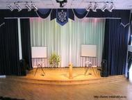 Шторы для сцены Профессионально и качественно изготовим шторы для сцены, актовых залов, школ, кафе и ресторанов.   Имеем большой опыт работы.   Работа, Москва - Разные услуги