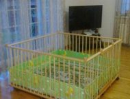 Санкт-Петербург: Не стандартный большой детский деревянный манеж 1,5х1,5м Большой детский деревянный манеж 1, 5х1, 5м с калиткой (20730 руб)  Манеж на заказ по индивид