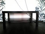 журнальный столик прямоугольный журнальный столик, цвет венги, с полочкой внизу, лаконичная и современная форма подходит для любого интерьера. Продам , Прокопьевск - Мебель для гостиной