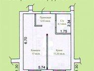 Хотите купить однокомнатную квартиру с отделкой в новом многоквартирном доме без комиссии от застройщика дешевле 1 миллиона Хотите купить однокомнатну, Ростов-На-Дону - Продажа квартир