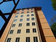 Квартира в Адлере продаю 25 кв. м квартиру на 8/8 эт. дома, два окна вид на нац. Парк, 200 м остановка, в шаговой доступности школа, дом построен, сда, Сочи - Продажа квартир