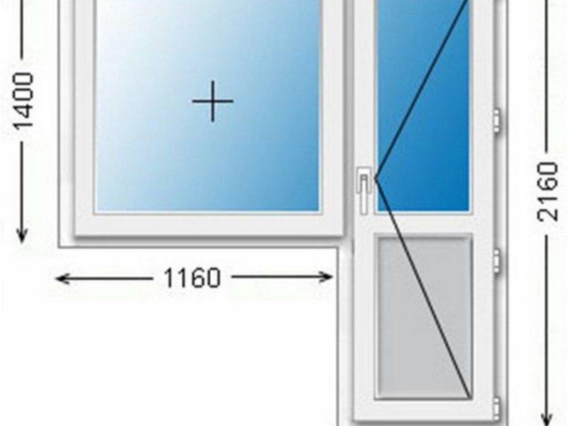Готовая комнатная балконная дверь одностворчатая стеклопакет.