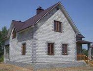 Тольятти: Строим дома, коттеджи, бани Фундамент, кладка блоков и кирпича, кровля, внутренняя отделка.   Забор, септик, земляные работы.   Деревянные дома, бани,