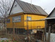 Уфа: Продам участок с домом Продам садовый участок №516 в саду №19 (от Дока 3 км) площадью 5, 5 соток. Дом бревенчатый, обшит с обеих сторон, площадью 5х5,