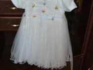 Платье на девочку 2 платья на девочку 4-5 лет. Состояние идеальное. Одевали по 1 разу. Цена каждого 400рублей. Красный октябрь., Волгоград - Детская одежда