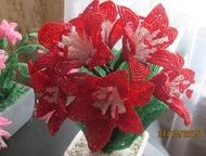 Воткинск: изделия из бисера продам цветы из бисера.